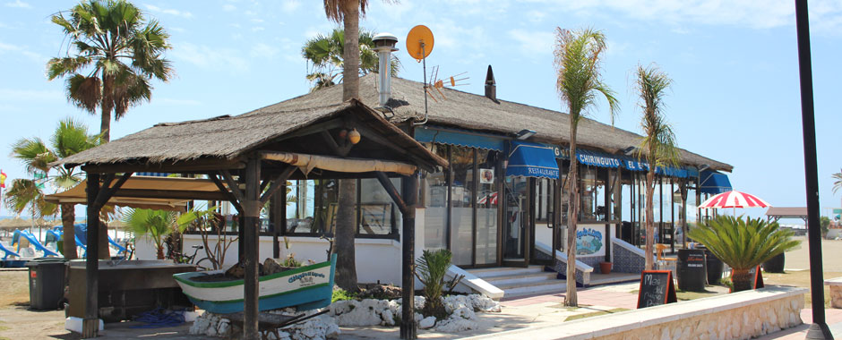 Chiringuito restaurant at Playamar