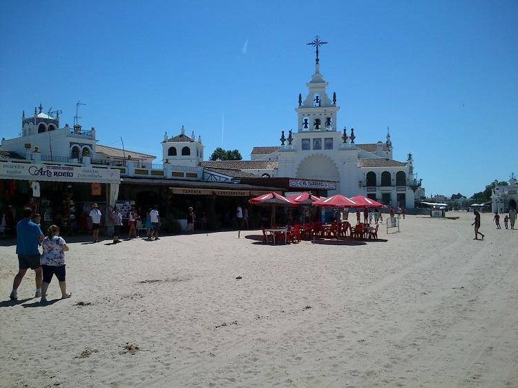 the wild western village of El Rocio
