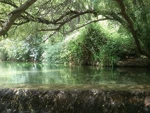 Incredible natural pond in El Burgo