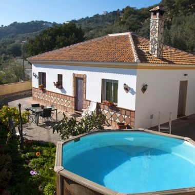 Holiday home with private pool