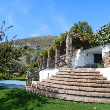 Finca cottage built in typical Spanish style
